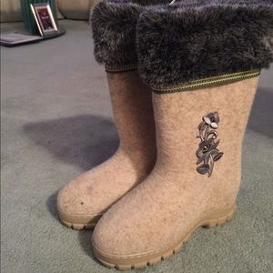 Shoes - Real WOOL felt boots